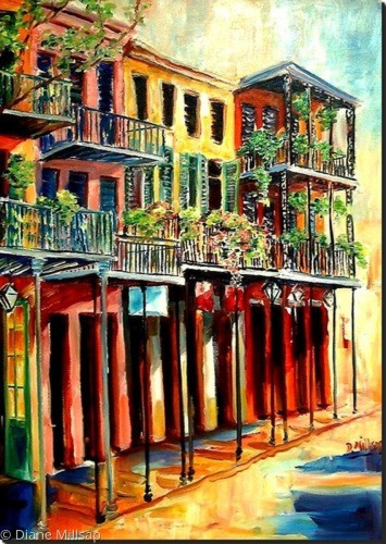 French Quarter Bliss- SOLD