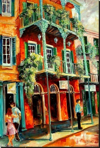 French Quarter Spring- SOLD