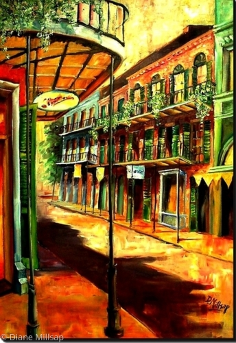 Sunny French Quarter - SOLD