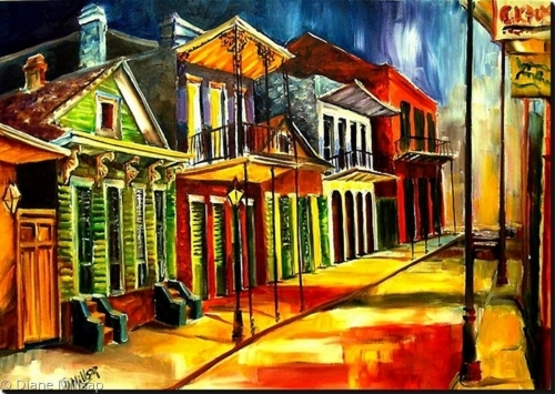Side Street in the Vieux Carre - SOLD