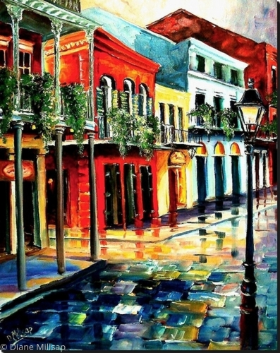 Dawn on St. Peter Street - SOLD