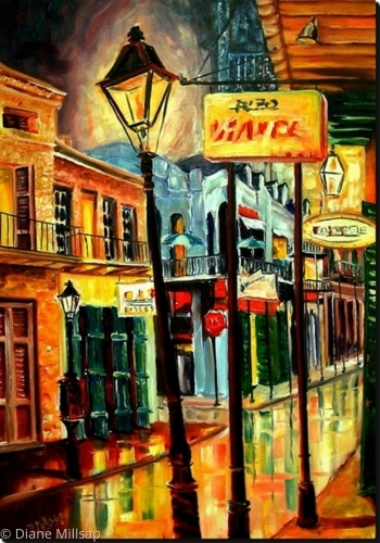This Way to Bourbon Street - SOLD
