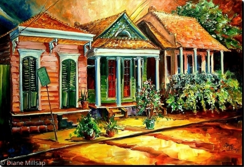 Sunset in the Marigny- SOLD