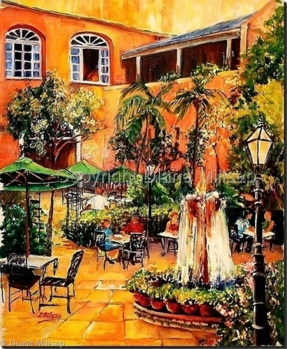 Pat O'Brien's Courtyard- SOLD