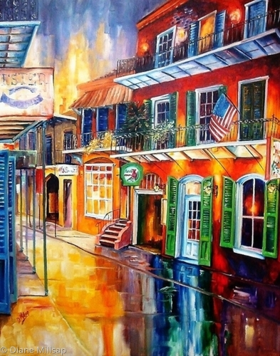 Bourbon Street Red - SOLD