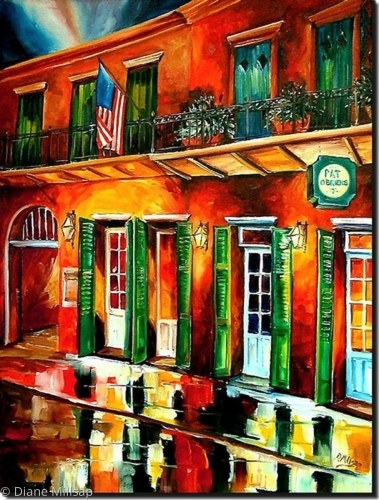 Pat OBrien's by Night - SOLD
