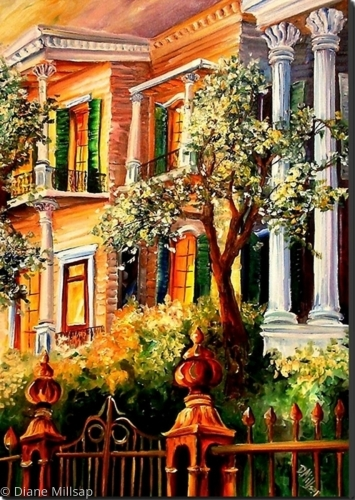 Sunset in the Garden District - SOLD