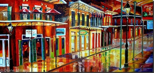 Late Night Bourbon Street-SOLD