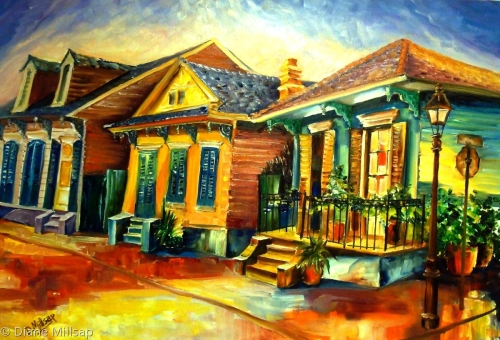 At home in the Big Easy-SOLD
