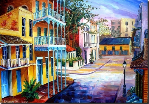 French Quarter Sunrise-SOLD