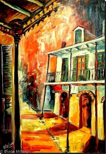Big Easy Night- SOLD