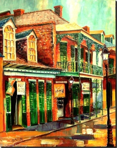 Morning in the French Quarter- SOLD