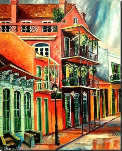 Beautiful Vieux Carre' - SOLD