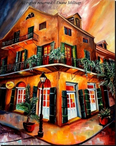 Big Easy Sunset - SOLD