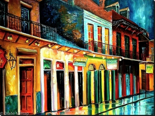 Rainy Night on Bourbon Street - SOLD