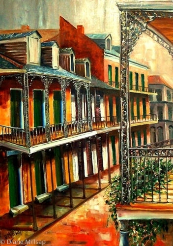 Daybreak on St. Ann Street - SOLD