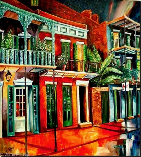 Nawlins' Color - SOLD