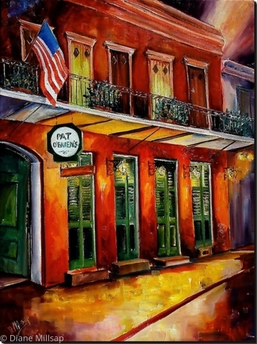 Pat O'Briens - New Orleans- SOLD