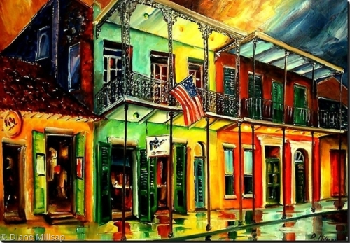 Down on Bourbon Street - SOLD