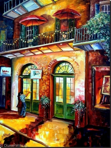 That French Quarter Glow - SOLD