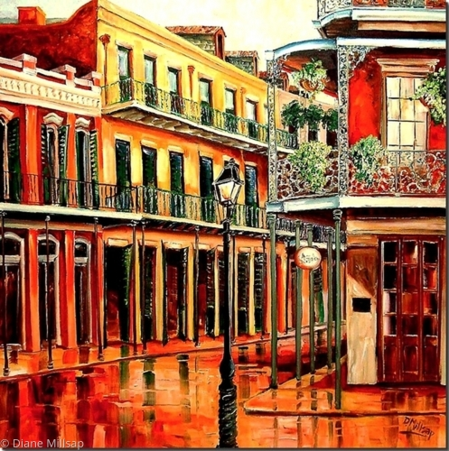 Rainy Day in the Quarter - SOLD
