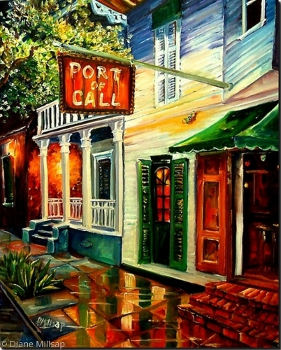 Port of Call in New Orleans - SOLD