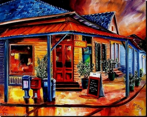 Colorful Marigny -SOLD