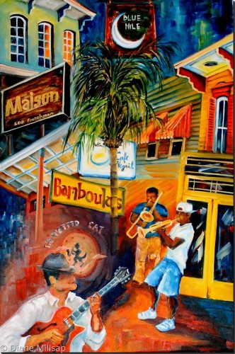 Signs of Frenchmen Street