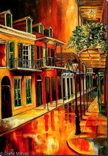 "Bold Vieux Carre"" - SOLD"