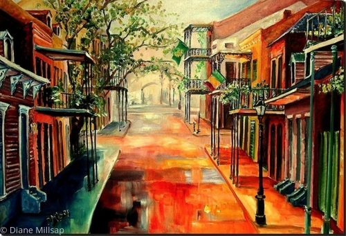 Springtime in the Quarter - SOLD