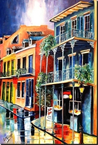 Royal Street Rain- SOLD