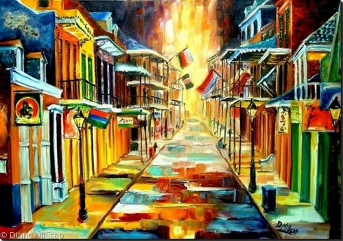 The Lights on Bourbon Street - SOLD
