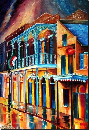 The French Quarter Glow - SOLD