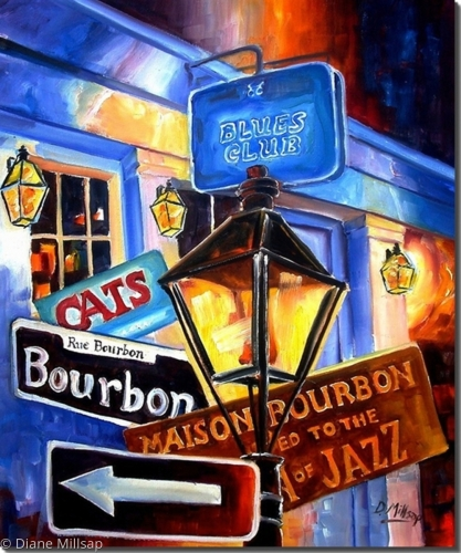 Signs of Bourbon Street - SOLD