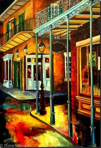 Mysteries of the Vieux Carre' - SOLD