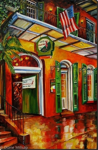 Pat O'Brien's on Bourbon Street- SOLD