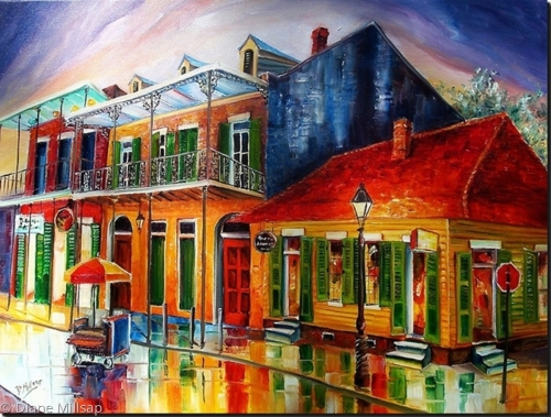 Late on Bourbon Street - SOLD