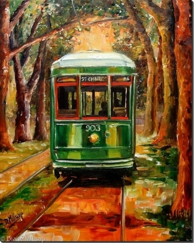 The St. Charles Streetcar Line - SOLD