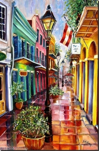 Reflections on Exchange Alley - SOLD