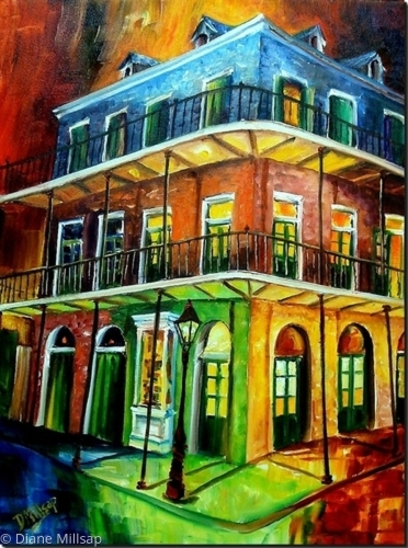 Nawlins Rainbow -SOLD