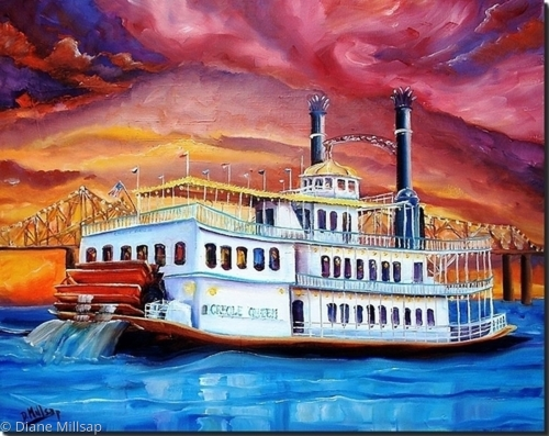 New Orleans' Creole Queen - SOLD