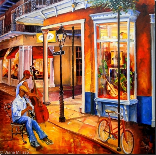 Jazz on Royal Street - SOLD