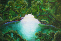 My Secret Place (original acrylic on canvas) (thumbnail)