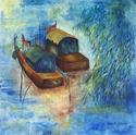 Painting-Memories from China (original oil on cavas)