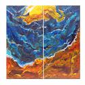 Safe Shore (Original acrylic on canvas) (thumbnail)