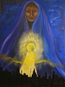 Shiva (Original acrylic on canvas) (thumbnail)