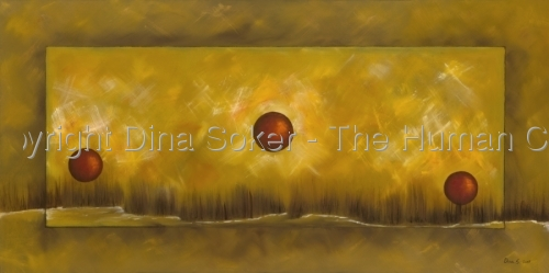 THE CYCLE (original oil painting) (thumbnail)