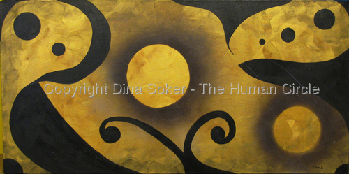 Dance Of The Soul (Original acrylic on canvas) (thumbnail)