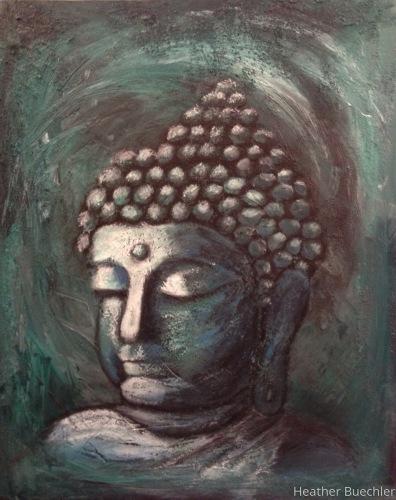 Sideways Buddha