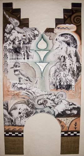 """""""Keepers of Society"""" by Deborah Jojola"""